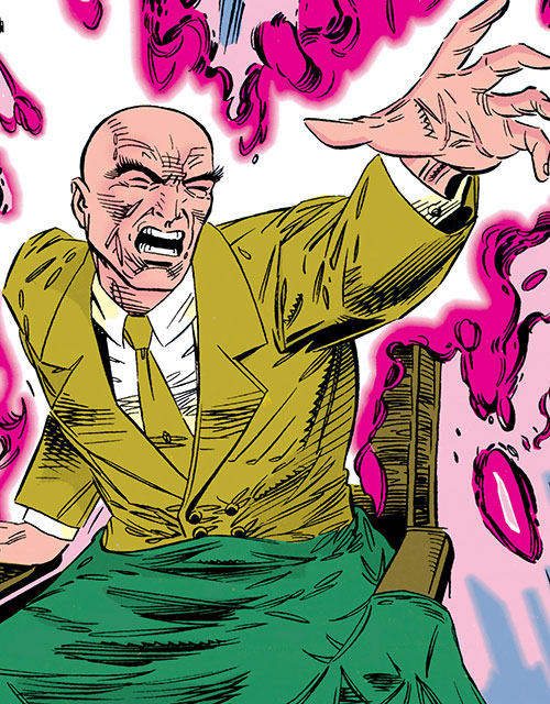 Professor X swambunkered haiku
