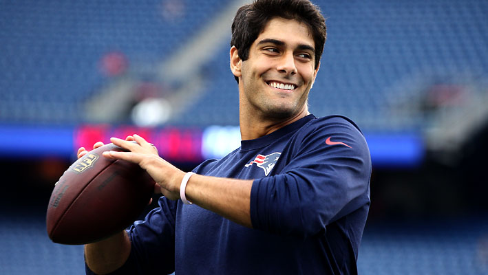 Jimmy Garoppolo swambunkered